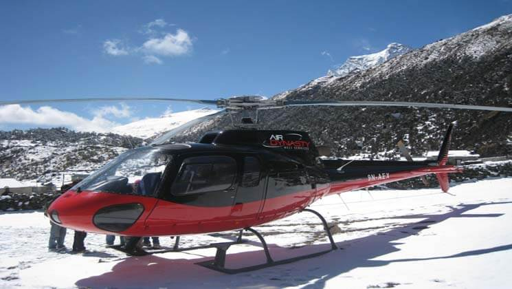 helicopter tour in langtang cost