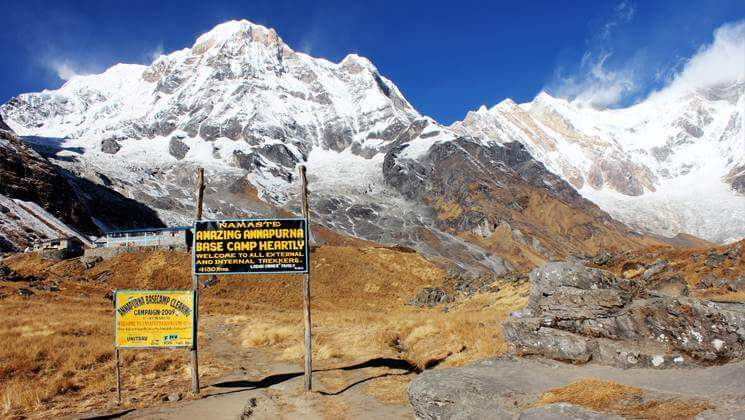 Annapurna trekking and travel alert