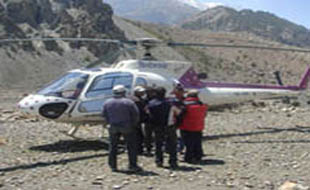upper mustang helicopter tours in nepal